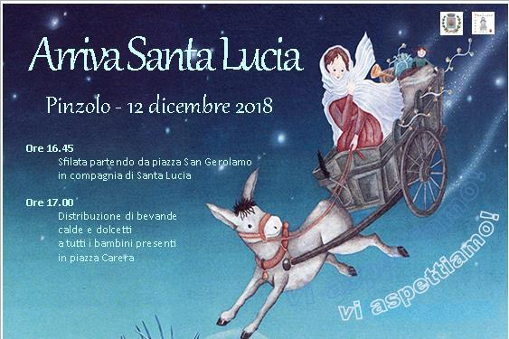 Arriva Santa Lucia!